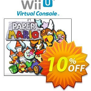 Paper Mario Wii U - Game Code 優惠券,折扣碼 Paper Mario Wii U - Game Code Deal,促銷代碼: Paper Mario Wii U - Game Code Exclusive Easter Sale offer for iVoicesoft