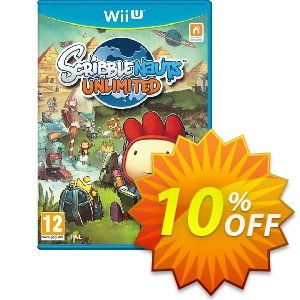 Scribblenauts Wii U - Game Code Coupon discount Scribblenauts Wii U - Game Code Deal. Promotion: Scribblenauts Wii U - Game Code Exclusive Easter Sale offer for iVoicesoft