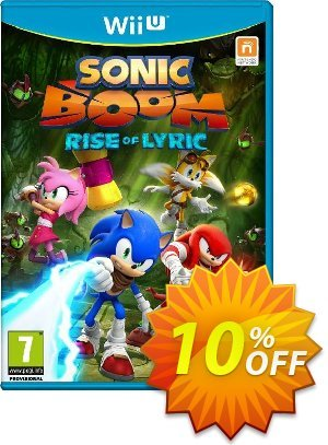 Sonic Boom: Rise of Lyric Nintendo Wii U - Game Code discount coupon Sonic Boom: Rise of Lyric Nintendo Wii U - Game Code Deal - Sonic Boom: Rise of Lyric Nintendo Wii U - Game Code Exclusive Easter Sale offer for iVoicesoft