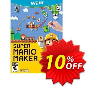 Super Mario Maker Nintendo Wii U - Game Code discount coupon Super Mario Maker Nintendo Wii U - Game Code Deal - Super Mario Maker Nintendo Wii U - Game Code Exclusive Easter Sale offer for iVoicesoft