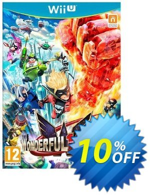 The Wonderful 101 Nintendo Wii U - Game Code discount coupon The Wonderful 101 Nintendo Wii U - Game Code Deal - The Wonderful 101 Nintendo Wii U - Game Code Exclusive Easter Sale offer for iVoicesoft