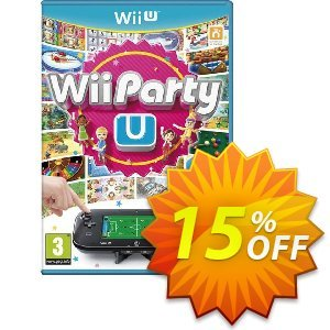 Wii Party U Wii U - Game Code 프로모션 코드 Wii Party U Wii U - Game Code Deal 프로모션: Wii Party U Wii U - Game Code Exclusive Easter Sale offer for iVoicesoft
