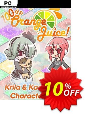 100% Orange Juice Krila & Kae Character Pack PC Coupon discount 100% Orange Juice Krila & Kae Character Pack PC Deal. Promotion: 100% Orange Juice Krila & Kae Character Pack PC Exclusive Easter Sale offer for iVoicesoft