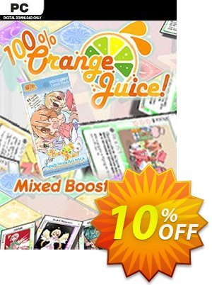 100% Orange Juice Mixed Booster Pack PC Coupon discount 100% Orange Juice Mixed Booster Pack PC Deal. Promotion: 100% Orange Juice Mixed Booster Pack PC Exclusive Easter Sale offer for iVoicesoft