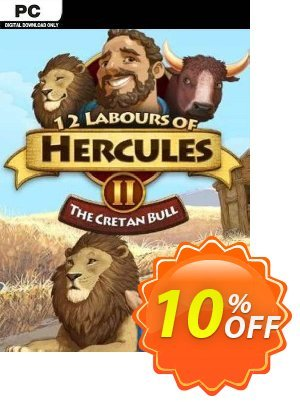 12 Labours of Hercules II The Cretan Bull PC Coupon discount 12 Labours of Hercules II The Cretan Bull PC Deal. Promotion: 12 Labours of Hercules II The Cretan Bull PC Exclusive Easter Sale offer for iVoicesoft