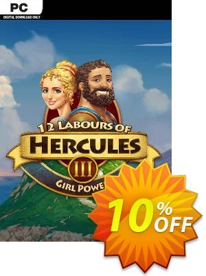 12 Labours of Hercules III Girl Power PC 프로모션 코드 12 Labours of Hercules III Girl Power PC Deal 프로모션: 12 Labours of Hercules III Girl Power PC Exclusive Easter Sale offer for iVoicesoft