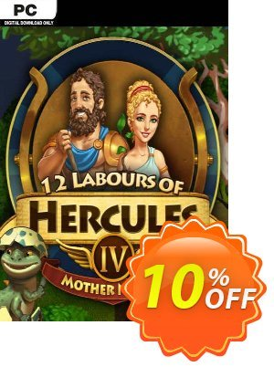 12 Labours of Hercules IV Mother Nature (Platinum Edition) PC 프로모션 코드 12 Labours of Hercules IV Mother Nature (Platinum Edition) PC Deal 프로모션: 12 Labours of Hercules IV Mother Nature (Platinum Edition) PC Exclusive Easter Sale offer for iVoicesoft