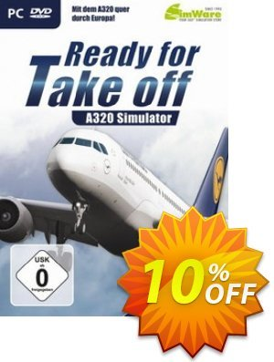 A320 Simulator - Ready for Take Off PC 프로모션 코드 A320 Simulator - Ready for Take Off PC Deal 프로모션: A320 Simulator - Ready for Take Off PC Exclusive Easter Sale offer for iVoicesoft