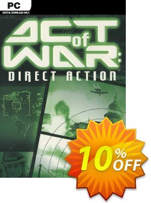 Act of War Direct Action PC Coupon discount Act of War Direct Action PC Deal. Promotion: Act of War Direct Action PC Exclusive Easter Sale offer for iVoicesoft