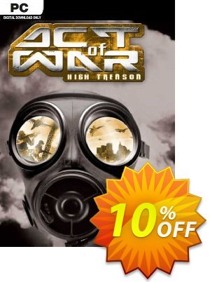 Act of War High Treason PC discount coupon Act of War High Treason PC Deal - Act of War High Treason PC Exclusive Easter Sale offer for iVoicesoft