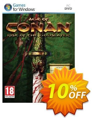 Age of Conan : Rise of the Godslayer (PC) 프로모션 코드 Age of Conan : Rise of the Godslayer (PC) Deal 프로모션: Age of Conan : Rise of the Godslayer (PC) Exclusive Easter Sale offer for iVoicesoft