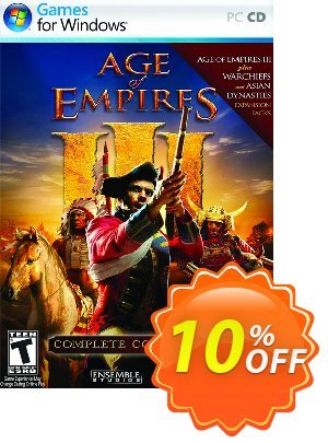 Age of Empires III 3: Complete Collection PC 프로모션 코드 Age of Empires III 3: Complete Collection PC Deal 프로모션: Age of Empires III 3: Complete Collection PC Exclusive Easter Sale offer for iVoicesoft
