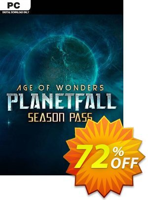 Age of Wonders Planetfall Season Pass PC discount coupon Age of Wonders Planetfall Season Pass PC Deal - Age of Wonders Planetfall Season Pass PC Exclusive Easter Sale offer for iVoicesoft