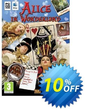 Alice in Wonderland (PC) 프로모션 코드 Alice in Wonderland (PC) Deal 프로모션: Alice in Wonderland (PC) Exclusive Easter Sale offer for iVoicesoft
