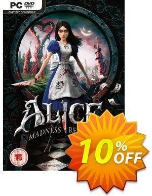 Alice: Madness Returns (PC) 프로모션 코드 Alice: Madness Returns (PC) Deal 프로모션: Alice: Madness Returns (PC) Exclusive Easter Sale offer for iVoicesoft