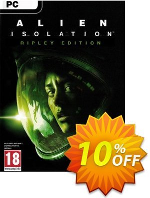 Alien Isolation Ripley Edition PC Gutschein rabatt Alien Isolation Ripley Edition PC Deal Aktion: Alien Isolation Ripley Edition PC Exclusive Easter Sale offer for iVoicesoft