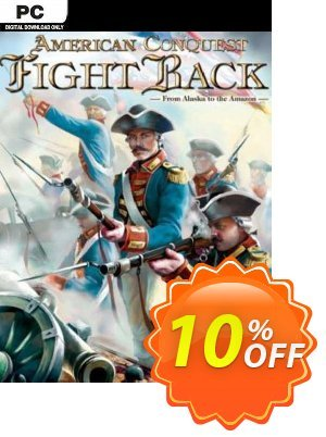 American Conquest Fight Back PC discount coupon American Conquest Fight Back PC Deal - American Conquest Fight Back PC Exclusive Easter Sale offer for iVoicesoft