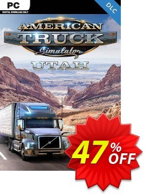 American Truck Simulator PC - Utah DLC discount coupon American Truck Simulator PC - Utah DLC Deal - American Truck Simulator PC - Utah DLC Exclusive Easter Sale offer for iVoicesoft