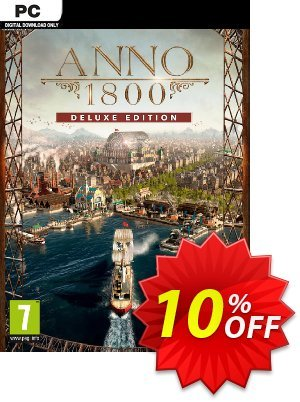 Anno 1800 Deluxe Edition PC discount coupon Anno 1800 Deluxe Edition PC Deal - Anno 1800 Deluxe Edition PC Exclusive Easter Sale offer for iVoicesoft