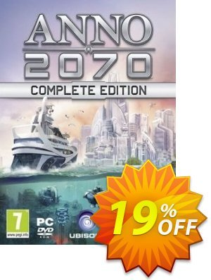 Anno 2070 Complete Edition PC Coupon discount Anno 2070 Complete Edition PC Deal. Promotion: Anno 2070 Complete Edition PC Exclusive Easter Sale offer for iVoicesoft
