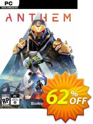 Anthem PC + DLC 프로모션 코드 Anthem PC + DLC Deal 프로모션: Anthem PC + DLC Exclusive Easter Sale offer for iVoicesoft