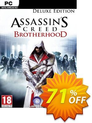 Assassin's Creed: Brotherhood - Deluxe Edition PC discount coupon Assassin's Creed: Brotherhood - Deluxe Edition PC Deal - Assassin's Creed: Brotherhood - Deluxe Edition PC Exclusive Easter Sale offer for iVoicesoft