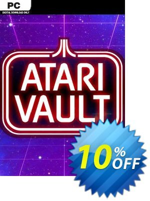 Atari Vault PC 프로모션 코드 Atari Vault PC Deal 프로모션: Atari Vault PC Exclusive Easter Sale offer for iVoicesoft