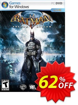 Batman: Arkham Asylum PC discount coupon Batman: Arkham Asylum PC Deal - Batman: Arkham Asylum PC Exclusive Easter Sale offer for iVoicesoft