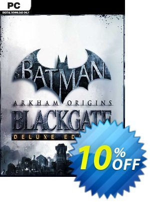 Batman Arkham Origins Blackgate Deluxe Edition PC discount coupon Batman Arkham Origins Blackgate Deluxe Edition PC Deal - Batman Arkham Origins Blackgate Deluxe Edition PC Exclusive Easter Sale offer for iVoicesoft