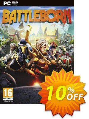 Battleborn PC + DLC discount coupon Battleborn PC + DLC Deal - Battleborn PC + DLC Exclusive Easter Sale offer for iVoicesoft