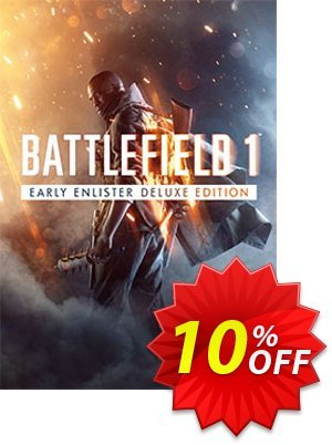 Battlefield 1 Early Enlister Deluxe Edition PC discount coupon Battlefield 1 Early Enlister Deluxe Edition PC Deal - Battlefield 1 Early Enlister Deluxe Edition PC Exclusive Easter Sale offer for iVoicesoft