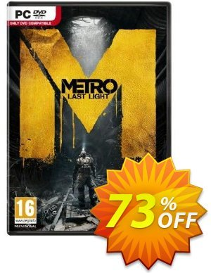Metro Last Light (PC) Coupon, discount Metro Last Light (PC) Deal. Promotion: Metro Last Light (PC) Exclusive offer for iVoicesoft