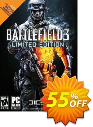 Battlefield 3 Limited Edition PC Coupon discount Battlefield 3 Limited Edition PC Deal. Promotion: Battlefield 3 Limited Edition PC Exclusive Easter Sale offer for iVoicesoft