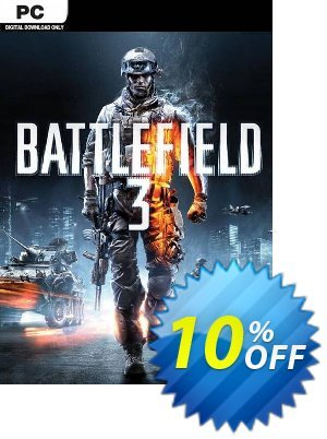Battlefield 3 (PC) Coupon discount Battlefield 3 (PC) Deal. Promotion: Battlefield 3 (PC) Exclusive Easter Sale offer for iVoicesoft