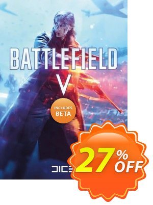 Battlefield V 5 PC + BETA 優惠券,折扣碼 Battlefield V 5 PC + BETA Deal,促銷代碼: Battlefield V 5 PC + BETA Exclusive Easter Sale offer for iVoicesoft