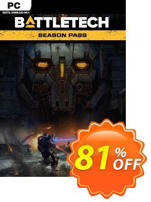 Battletech Season Pass PC discount coupon Battletech Season Pass PC Deal - Battletech Season Pass PC Exclusive Easter Sale offer for iVoicesoft