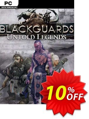 Blackguards Untold Legends PC discount coupon Blackguards Untold Legends PC Deal - Blackguards Untold Legends PC Exclusive Easter Sale offer for iVoicesoft