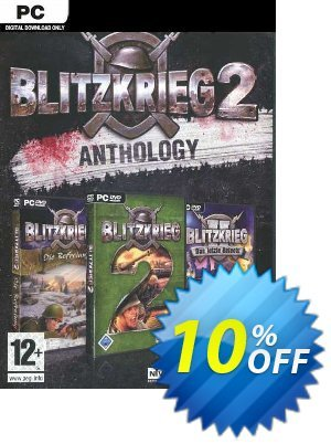 Blitzkrieg 2 Anthology PC discount coupon Blitzkrieg 2 Anthology PC Deal - Blitzkrieg 2 Anthology PC Exclusive Easter Sale offer for iVoicesoft