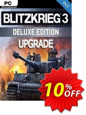 Blitzkrieg 3 Digital Deluxe Edition Upgrade PC discount coupon Blitzkrieg 3 Digital Deluxe Edition Upgrade PC Deal - Blitzkrieg 3 Digital Deluxe Edition Upgrade PC Exclusive Easter Sale offer for iVoicesoft
