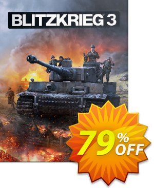 Blitzkrieg 3 PC discount coupon Blitzkrieg 3 PC Deal - Blitzkrieg 3 PC Exclusive Easter Sale offer for iVoicesoft