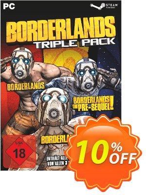 Borderlands: Triple Pack PC 프로모션 코드 Borderlands: Triple Pack PC Deal 프로모션: Borderlands: Triple Pack PC Exclusive Easter Sale offer for iVoicesoft