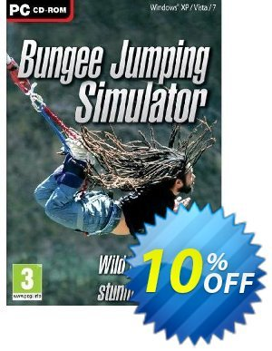 Bungee Jumping Simulator (PC) Coupon discount Bungee Jumping Simulator (PC) Deal. Promotion: Bungee Jumping Simulator (PC) Exclusive Easter Sale offer for iVoicesoft