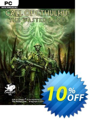 Call of Cthulhu The Wasted Land PC discount coupon Call of Cthulhu The Wasted Land PC Deal - Call of Cthulhu The Wasted Land PC Exclusive Easter Sale offer for iVoicesoft