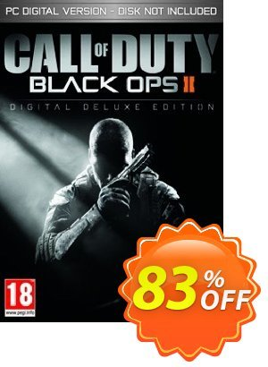 Call of Duty (COD) Black Ops II 2 Digital Deluxe Edition PC (GERMANY) discount coupon Call of Duty (COD) Black Ops II 2 Digital Deluxe Edition PC (GERMANY) Deal - Call of Duty (COD) Black Ops II 2 Digital Deluxe Edition PC (GERMANY) Exclusive Easter Sale offer for iVoicesoft