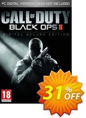 Call of Duty (COD) Black Ops II 2 Digital Deluxe Edition PC discount coupon Call of Duty (COD) Black Ops II 2 Digital Deluxe Edition PC Deal - Call of Duty (COD) Black Ops II 2 Digital Deluxe Edition PC Exclusive Easter Sale offer for iVoicesoft