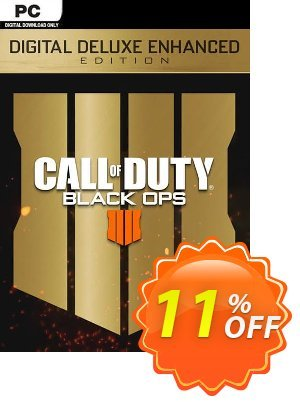 Call of Duty (COD) Black Ops 4 Deluxe Enhanced Edition PC (EU) Coupon discount Call of Duty (COD) Black Ops 4 Deluxe Enhanced Edition PC (EU) Deal. Promotion: Call of Duty (COD) Black Ops 4 Deluxe Enhanced Edition PC (EU) Exclusive Easter Sale offer for iVoicesoft