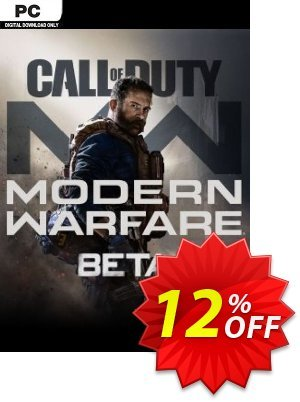Call of Duty Modern Warfare Beta PC discount coupon Call of Duty Modern Warfare Beta PC Deal - Call of Duty Modern Warfare Beta PC Exclusive Easter Sale offer for iVoicesoft