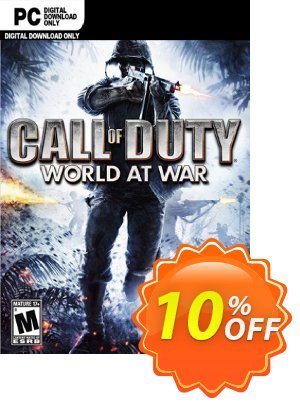 Call of Duty (COD) World at War PC discount coupon Call of Duty (COD) World at War PC Deal - Call of Duty (COD) World at War PC Exclusive Easter Sale offer for iVoicesoft
