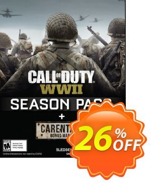 Call of Duty (COD) WWII Season Pass PC discount coupon Call of Duty (COD) WWII Season Pass PC Deal - Call of Duty (COD) WWII Season Pass PC Exclusive Easter Sale offer for iVoicesoft