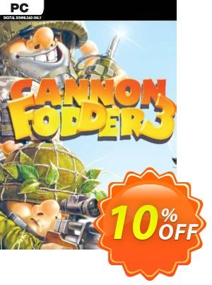 Cannon Fodder 3 PC discount coupon Cannon Fodder 3 PC Deal - Cannon Fodder 3 PC Exclusive Easter Sale offer for iVoicesoft
